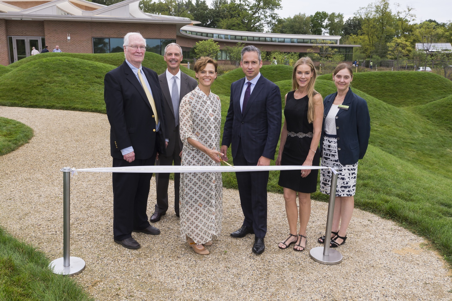 Chicago Botanic Garden Atrium Ribbon Cutting Ceremony #1